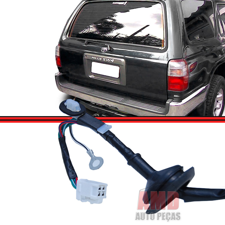 Lanterna Traseira Hilux 96 a 00 Sw4 Bicolor  - Amd Auto Peças