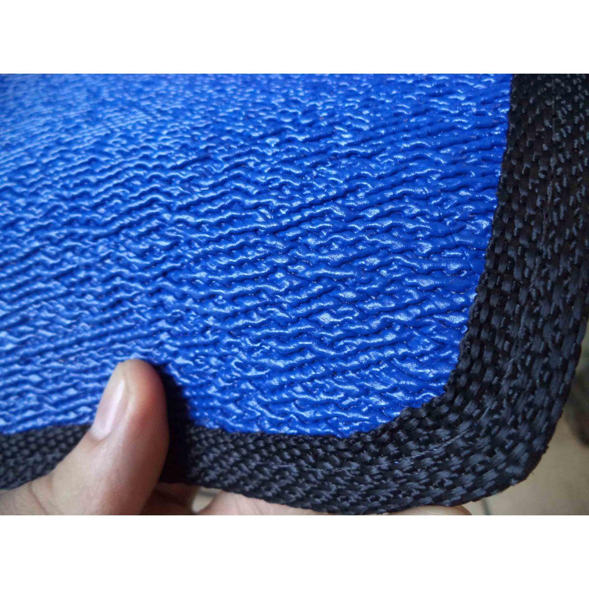 Jogo Tapete Borracha PVC Logan Megane Sandero Duster Clio Azul  - Amd Auto Peças