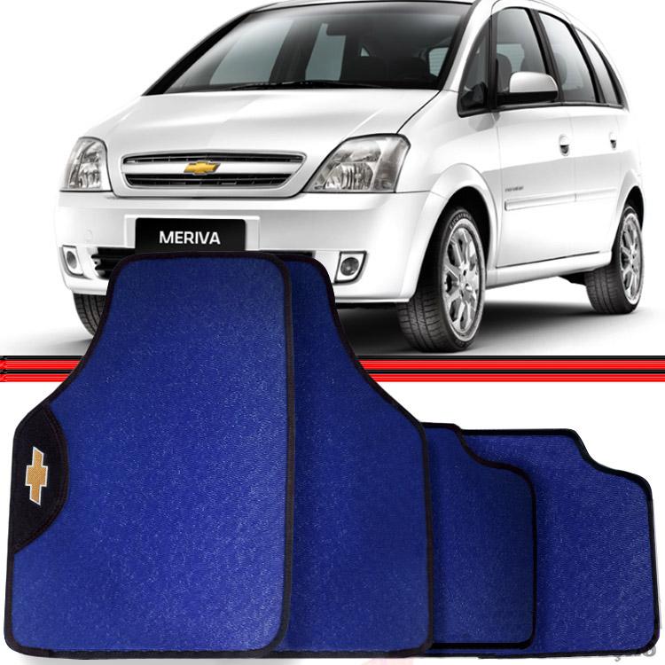 Jogo Tapete Automotivo Carro Astra Meriva Azul  - Amd Auto Peças