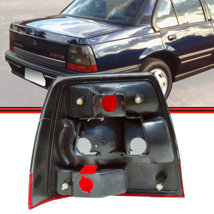 Lanterna Traseira Monza Tubar�o 91 a 96 Fum�  - Amd Auto Pe�as