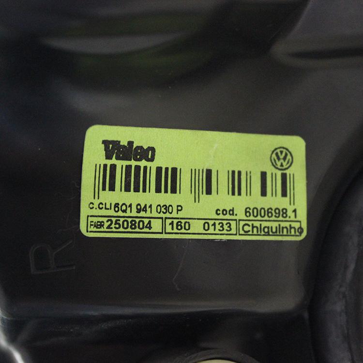 Farol Polo Sedan Hatch 03 a 06 Lado Direito  - Amd Auto Peças
