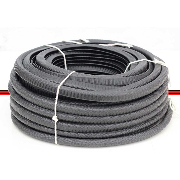 Borracha Couro Cobra Debrum Acabamento PVC 15x18 3 Garras Preto