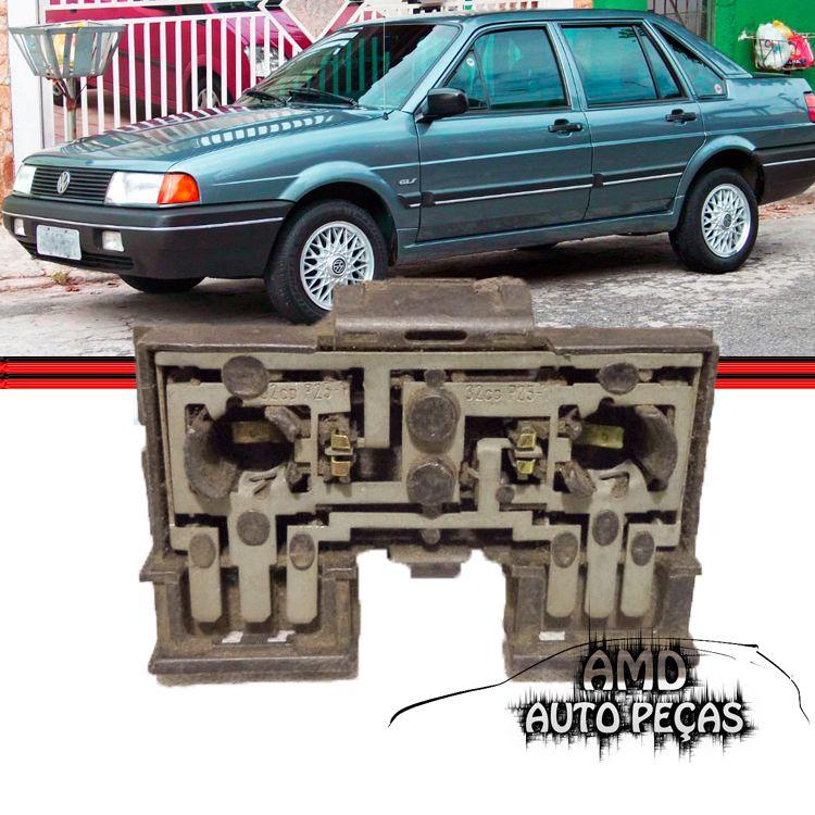 Soquete Circuito Lanterna Traseira Santana 91 a 98 Original  - Amd Auto Peças