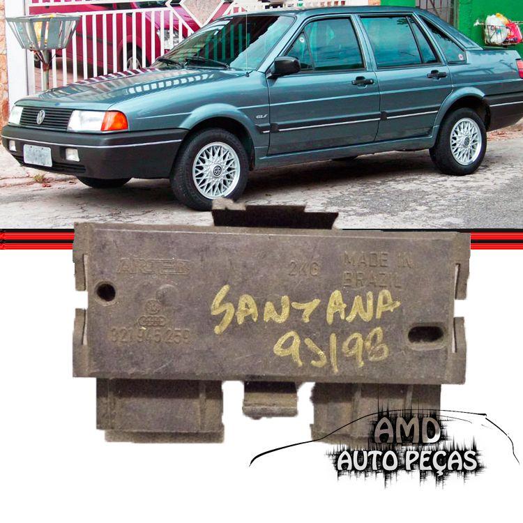 Soquete Circuito Lanterna Traseira Santana 91 a 98 Original