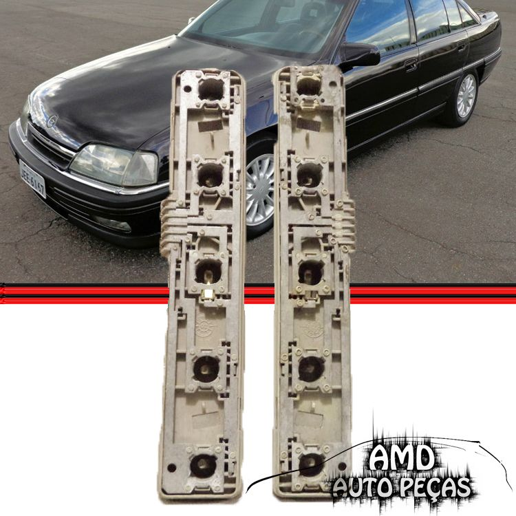 Soquete Circuito Lanterna Traseira Omega 93 a 98 Original  - Amd Auto Peças
