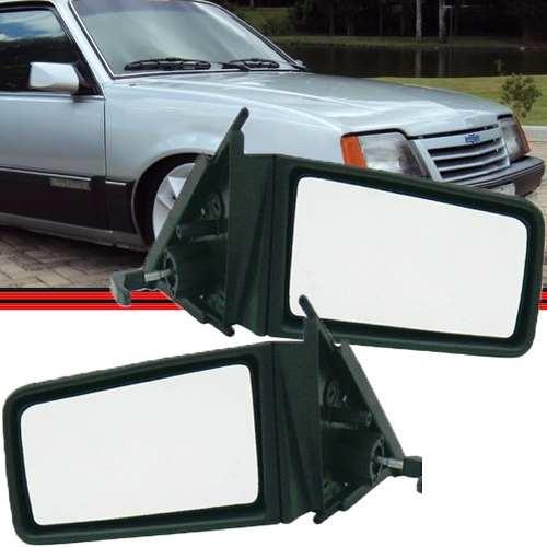 Retrovisor Espelho Monza 82 a 90 Com Controle  - Amd Auto Pe�as