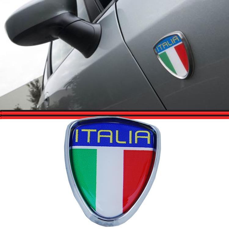 Emblema Escudo Itália Fiat Punto Stilo Palio Siena Idea Universal   - Amd Auto Peças