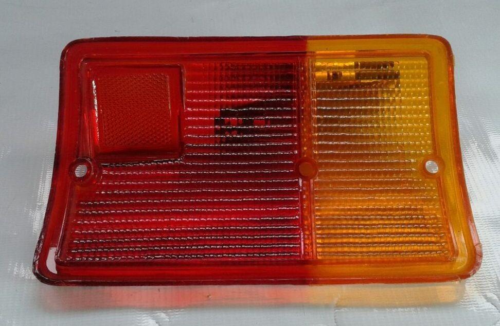 Lente Lanterna Traseira Fiorino Bau 82 a 85  - Amd Auto Pe�as