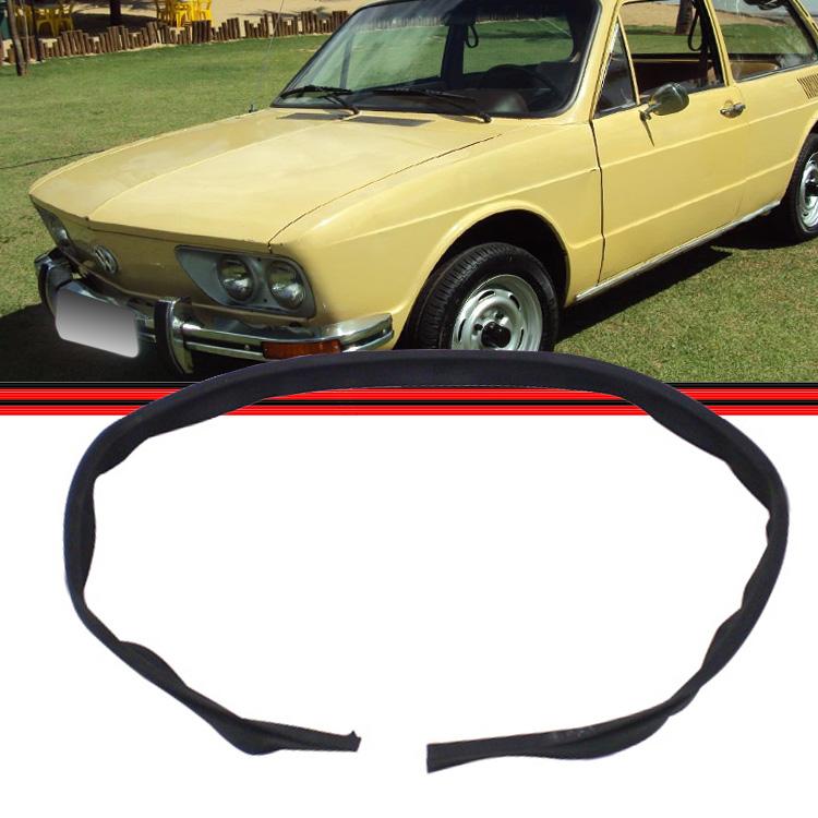 Borracha Curva Larga Veda��o Tampa Motor Fusca Brasilia Variant I Kombi Coruja Clipper Carat Encaixe  - Amd Auto Pe�as