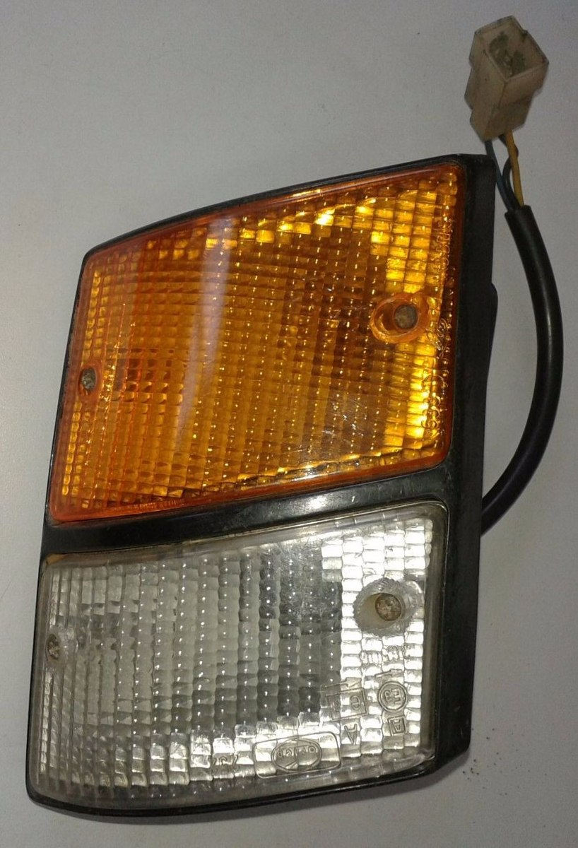 Lanterna Pisca Fiat 147 Europa Panorama Ambar Cristal  - Amd Auto Peças