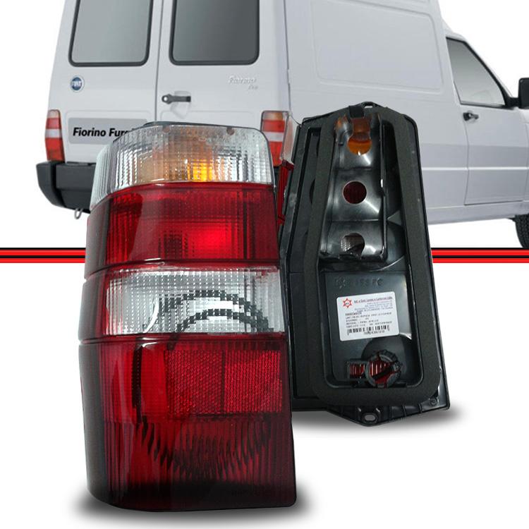 Lanterna Traseira Fiorino 04 a 13 Tricolor  - Amd Auto Pe�as