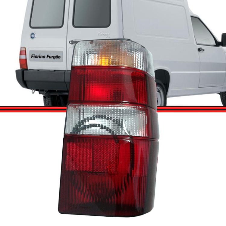 Lanterna Traseira Fiorino 04 a 13 Tricolor  - Amd Auto Peças