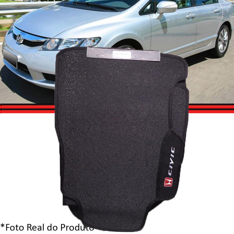 Jogo Tapete Civic 07 a 12 3 Pe�as Borracha  - Amd Auto Pe�as