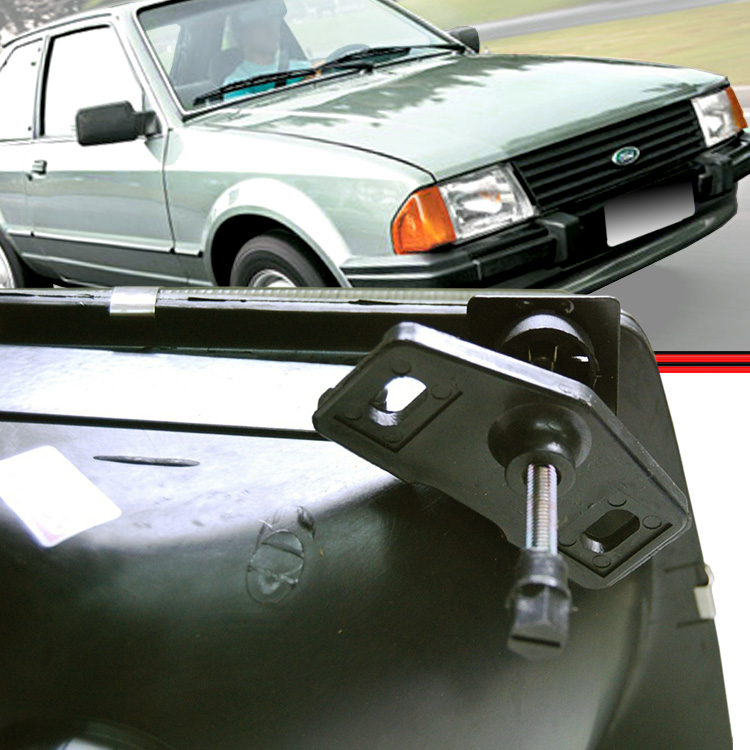Farol Escort 83 a 86  - Amd Auto Peças
