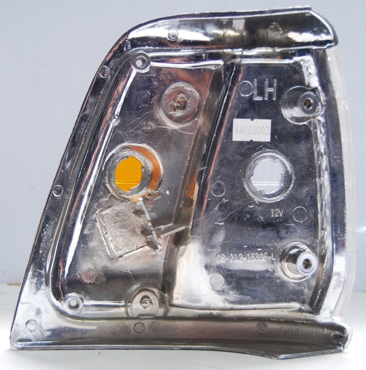 Lanterna Dianteira Hilux 92 a 01 4x2 Aro Cromado  - Amd Auto Peças