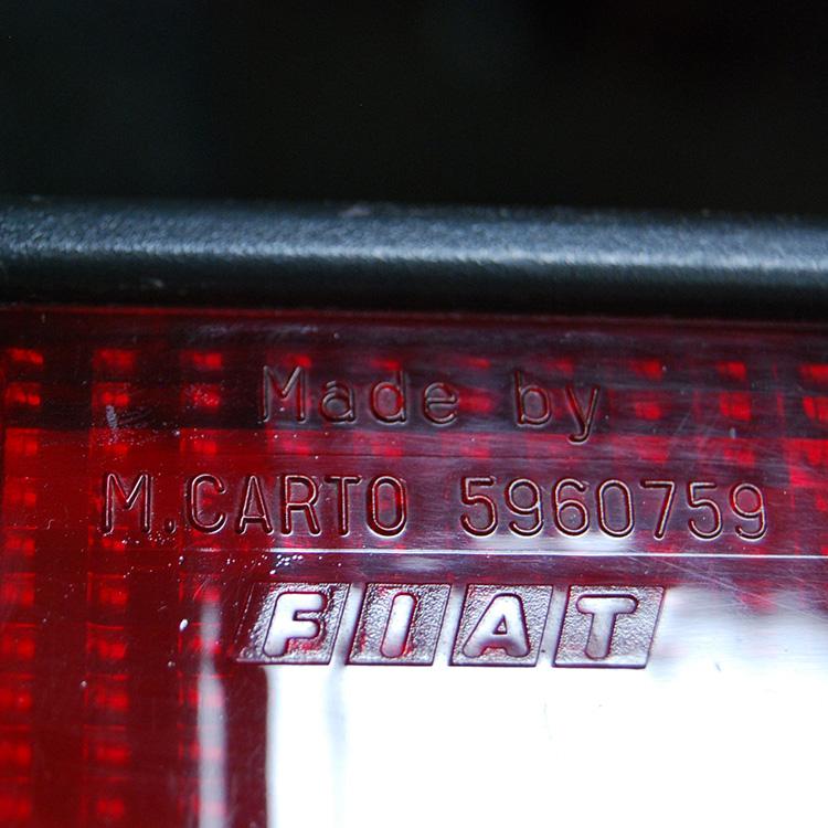 Lanterna Traseira Fiat 147 Oggi Spazio 83 A 86 Tricolor  - Amd Auto Peças