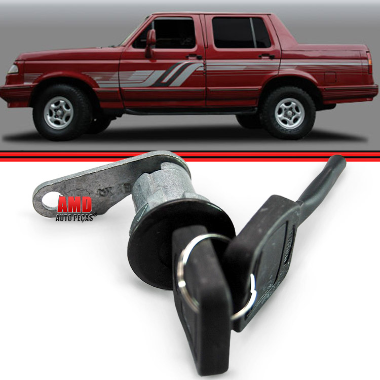 Cilindro Porta Ford F1000 F350 F4000 F13000 93 a 98 Com Chaves