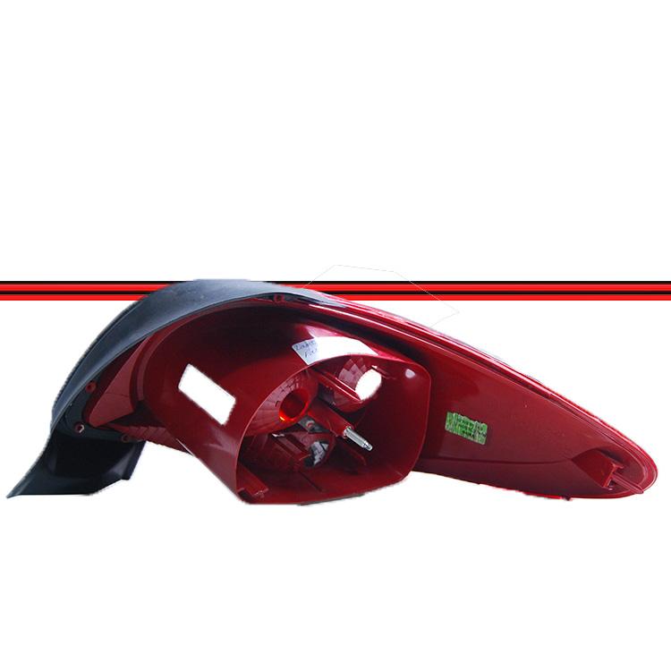 Lanterna Traseira Peugeot 207 Passion Sedan 08 a 11 Grade Vermelha  - Amd Auto Pe�as