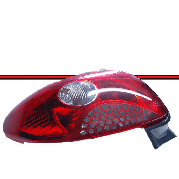 Lanterna Traseira Peugeot 207 Passion Sedan 08 a 11 Grade Vermelha  - Amd Auto Peças
