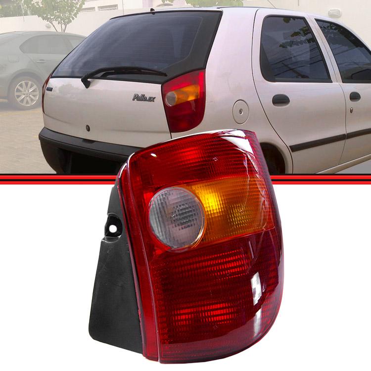 Lanterna Traseira Palio 96 a 99 Tricolor  - Amd Auto Peças