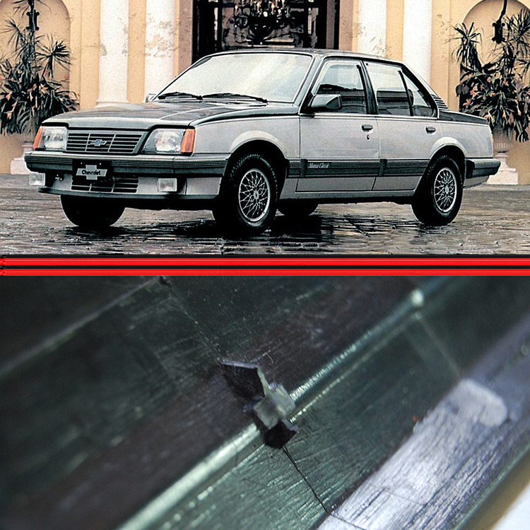 Friso Porta Monza Classic 87 a 90 4 Portas Preta  - Amd Auto Peças