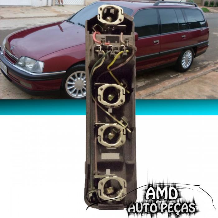 Soquete Circuito Lanterna Traseira Omega Suprema 93 á 98 Original  - Amd Auto Peças