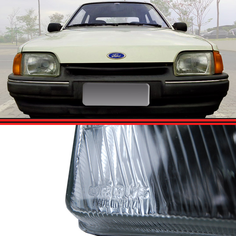 Farol Escort L GL XR3 87 a 92 Verona 87 a 92 Apollo 90 a 92  - Amd Auto Peças