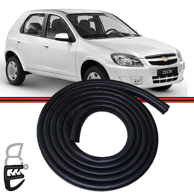 Borracha Porta Celta 00 a 14 Corsa Pick-up Wagon 94 a 02 Com Aba