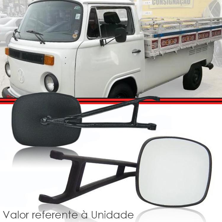 Retrovisor Espelho Kombi Pick-Up Cabrita 76 a 97  - Amd Auto Peças
