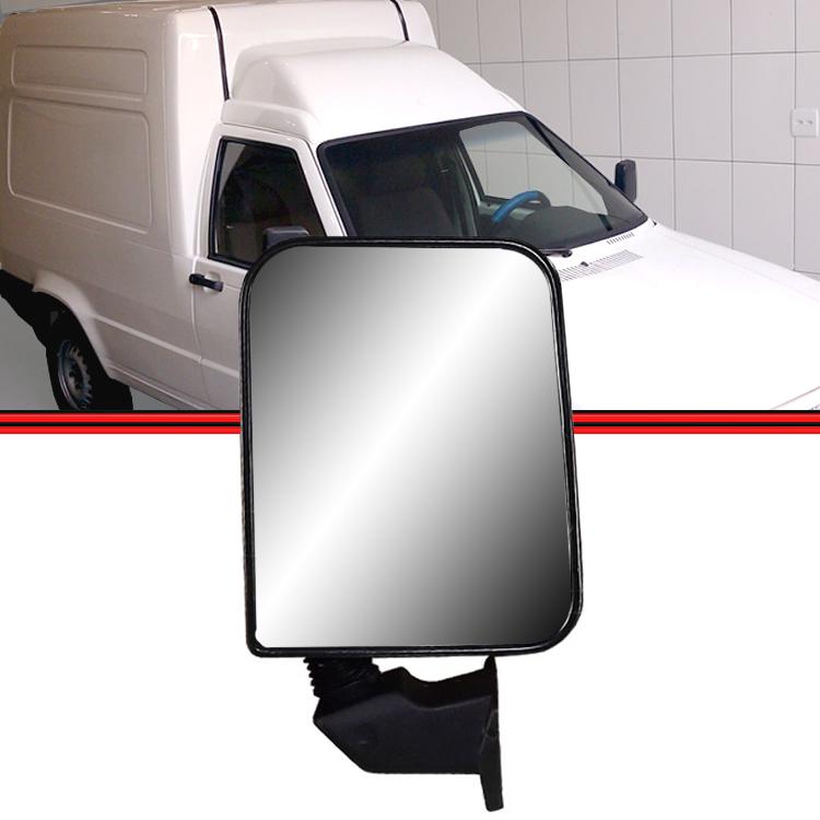 Retrovisor Espelho Fiorino 91 a 96 Fixo  - Amd Auto Peças