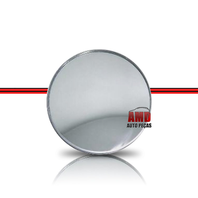 Espelho Externo Olho de Boi Pequeno Fixo Modelo Universal  - Amd Auto Peças