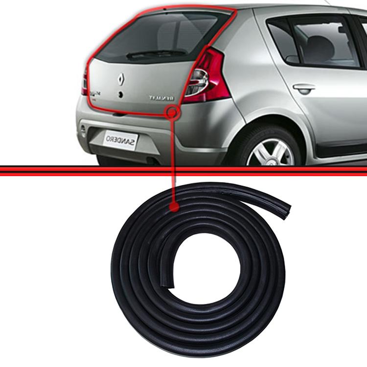 Kit Borracha Porta e Porta Mala Sandero Duster Logan 4 Portas 5 Unidades  - Amd Auto Peças
