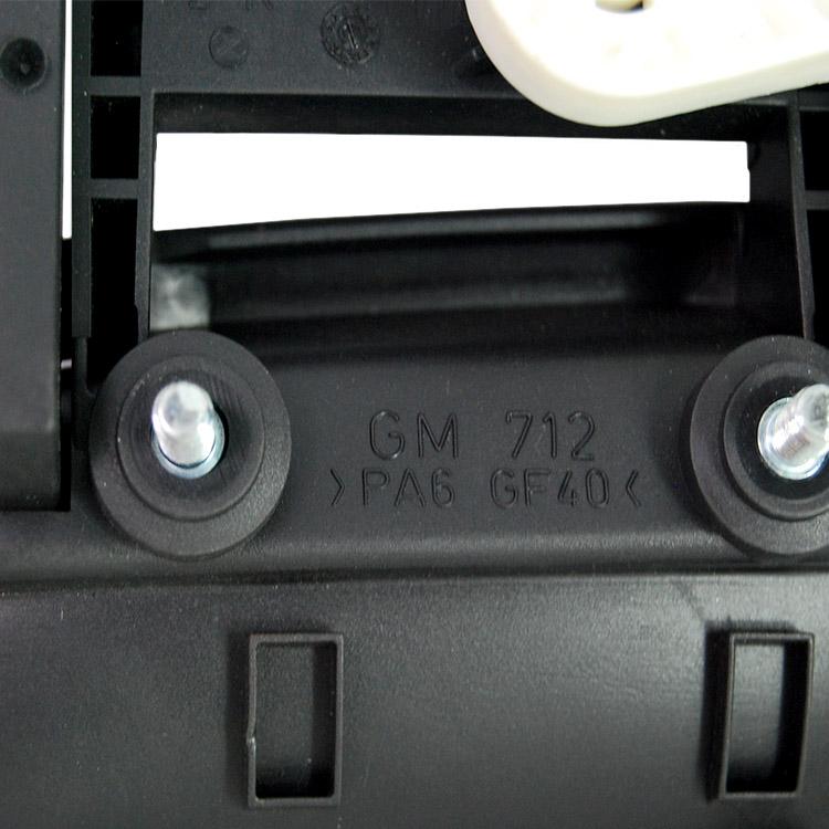 Maçaneta Externa Astra 98 a 11 Zafira 4 Portas Dianteira Sem Chave Preta  - Amd Auto Peças