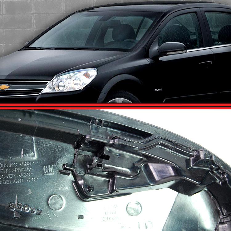 Pisca Seta Espelho Retrovisor Com Luz de Solo Vectra 08 a 12  - Amd Auto Peças