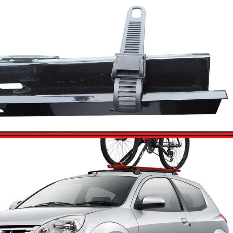Kit Rack Travessa Wave Baixo + Suporte Bike Ka 08 em diante Preto  - Amd Auto Pe�as