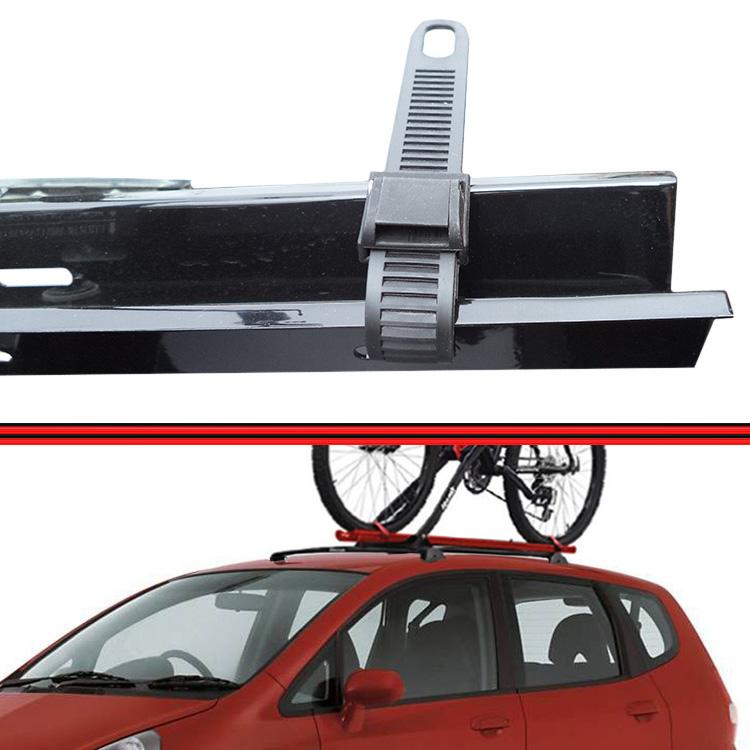 Kit Rack Travessa Wave Baixo + Suporte Bike Fit 04 em diante Preto  - Amd Auto Peças
