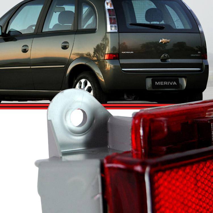 Retrorrefletor Lanterna Neblina Traseiro Meriva 05 a 12 Rubi  - Amd Auto Peças