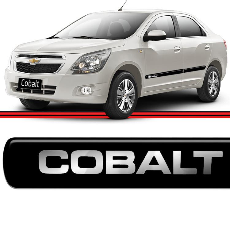 Jogo Friso Cobalt 13 a 15 Preto  - Amd Auto Peças