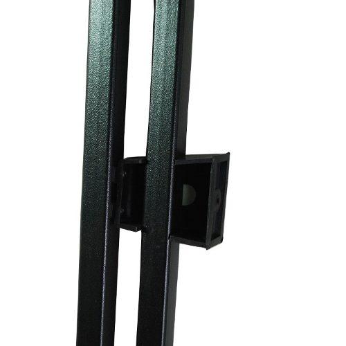 Rack Teto Univerlsa Preto Decorativo Barra Longarina  - Amd Auto Peças