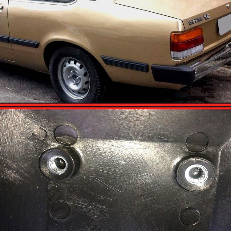 Ponteira Traseira Chevette Maraj� Chevy 83 a 86  - Amd Auto Pe�as