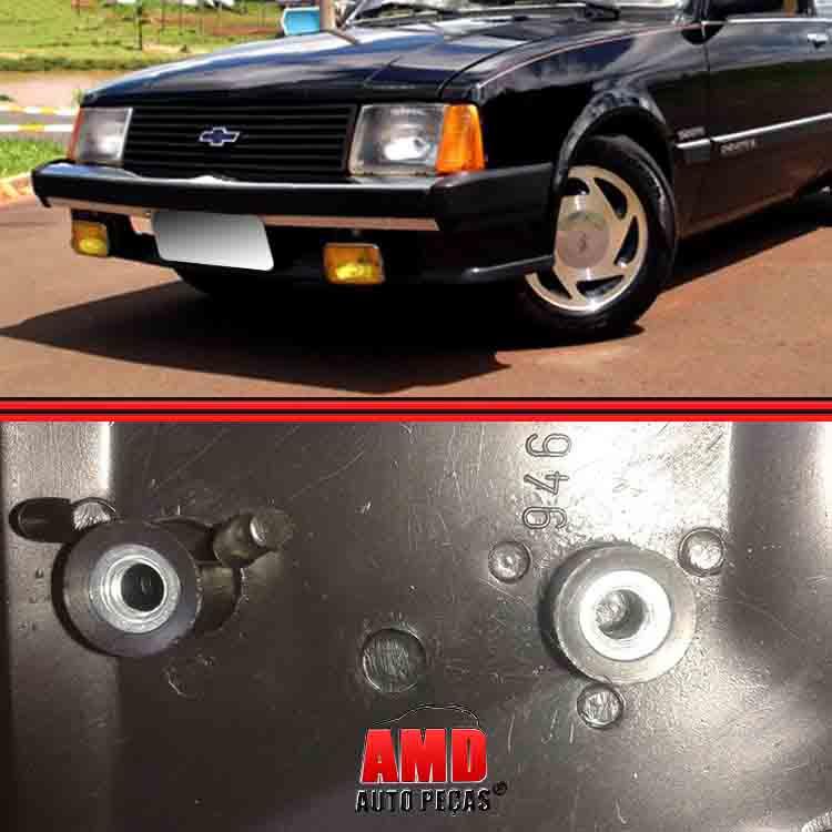 Ponteira Dianteira Chevette Marajó Chevy 500 83 A 86  - Amd Auto Peças