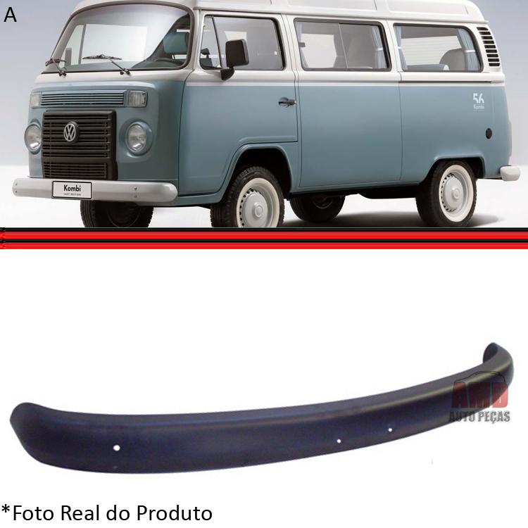 Parachoque Dianteiro Kombi Clipper 76 a 13 Preto  - Amd Auto Peças