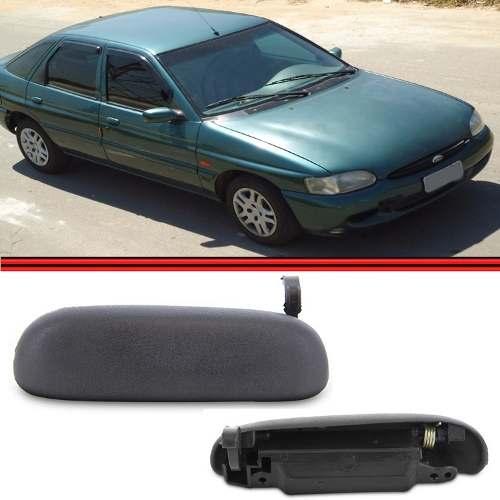 Ma�aneta Externa Escort Zetec 1997 1998 1999 2000 2001 2002 Preta  - Amd Auto Pe�as