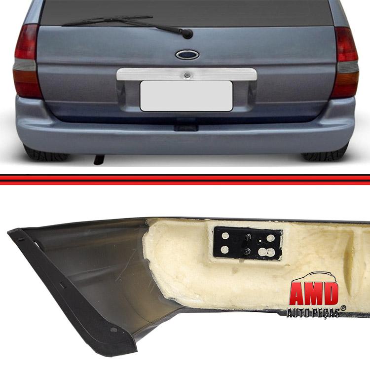 Parachoque Traseiro Escort Zetec Perua Wagon SW Preto  - Amd Auto Peças