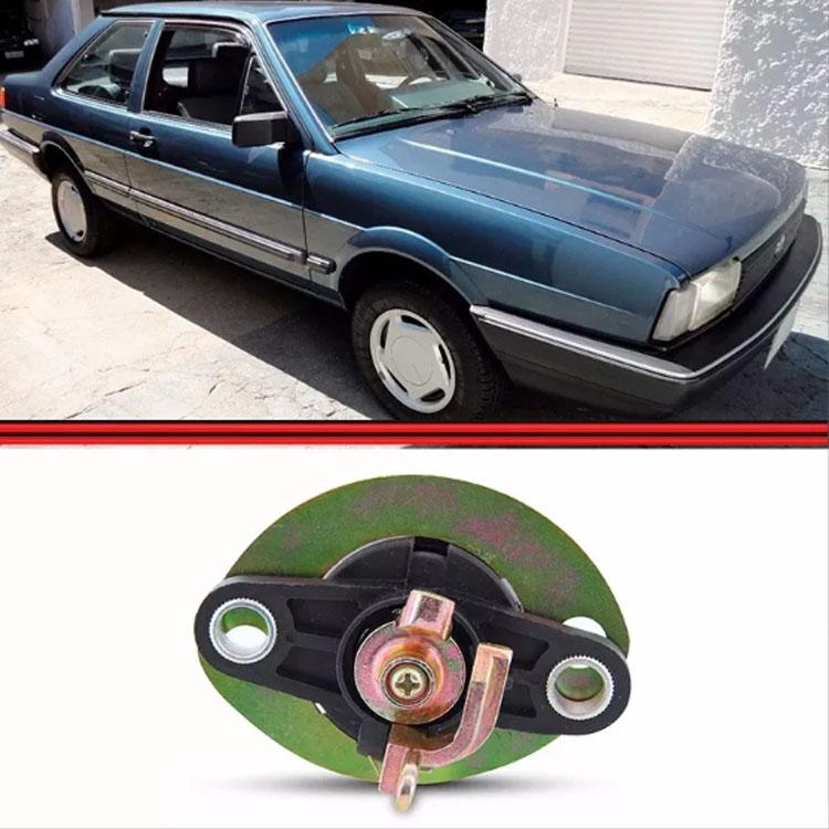 Botão Tampa Traseira Santana 85 86 87 88 89 90 Manual  - Amd Auto Peças