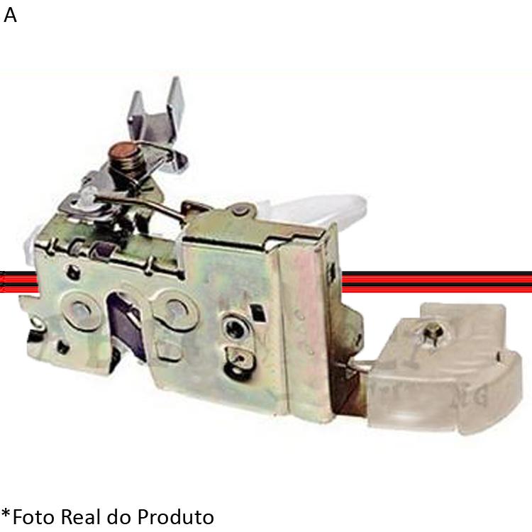 Fechadura Porta Dianteira Escort Zetec Perua SW 97 a 02 4 Portas Pré-Disposta para Elétrica  - Amd Auto Peças