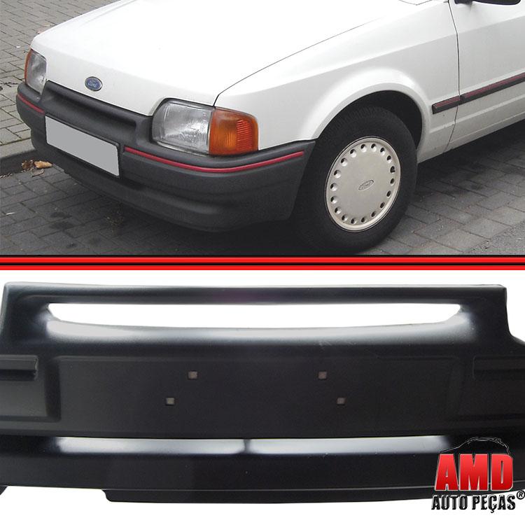 Parachoque Dianteiro Escort Ghia L GL 87 a 92 Com Espuma Interna Grafite  - Amd Auto Peças