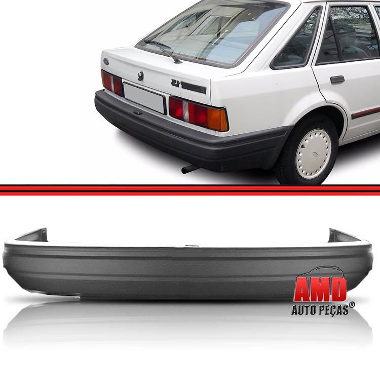 Parachoque Traseiro Escort XR3 L GL Ghia 87 a 92 Grafite com Espuma Interna  - Amd Auto Peças