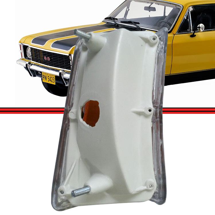 Par Lanterna Dianteira Pisca Opala Caravan 75 a 79 Cristal Acrílico  - Amd Auto Peças
