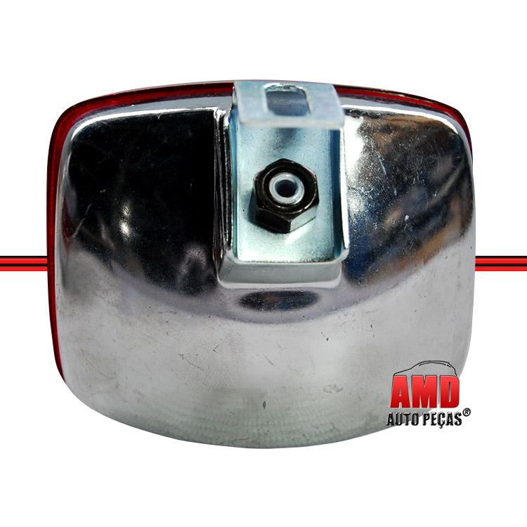 Lanterna Luz Ré Modelo Paquera Vermelho  - Amd Auto Peças